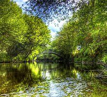 The Weddel Bridge - River Moyola, Co. Derry by Kieran Donnelly