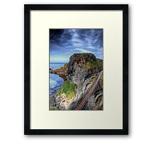 Carrick-a-Rede Rope Bridge, Antrim Framed Print