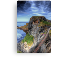 Carrick-a-Rede Rope Bridge, Antrim Canvas Print