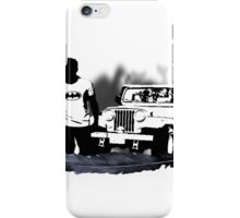 Stiles and His Jeep iPhone Case/Skin