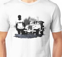 Stiles and His Jeep Unisex T-Shirt