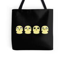 Gunter's Faces Tote Bag