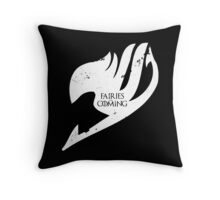 Fairies are Coming Throw Pillow