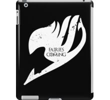 Fairies are Coming iPad Case/Skin