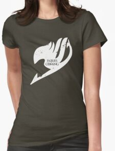 Fairies are Coming Womens Fitted T-Shirt