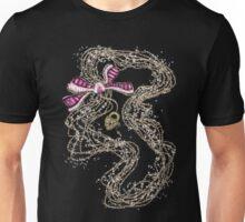 Edwardian Pearls, Bejewelled Ribbon & Padlock Jewellery  Unisex T-Shirt