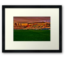 """Go Cats"" Framed Print"