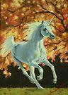 Autumn Unicorn by louisegreen