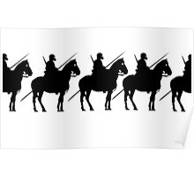 Horse & Rider   Poster