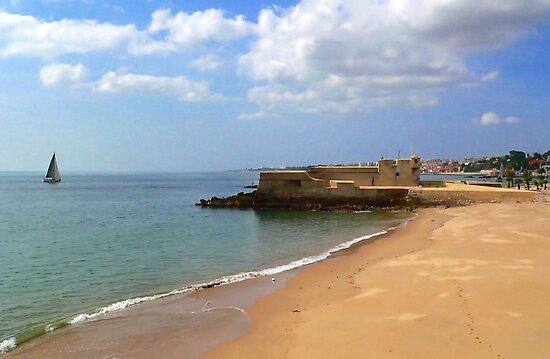 Caxias beach. by terezadelpilar ~ art & architecture