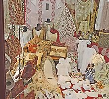 Lace and Embroidery, Bruges, Belgium by Margaret  Hyde