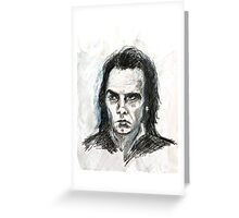 Nick Cave by aniO2014 Greeting Card