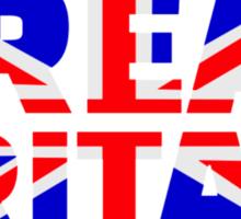 Great britain flag union jack Sticker