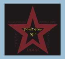 Don't Give Up! Kids Clothes