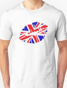 Great britain flag kiss  T-Shirt