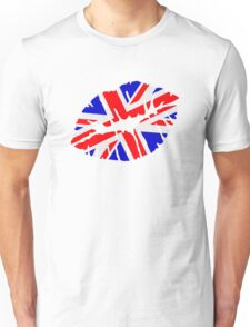 Great britain flag kiss  Unisex T-Shirt