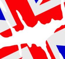 Great britain flag kiss  Sticker