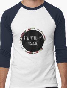 Beautifully Tragic Floral Men's Baseball ¾ T-Shirt