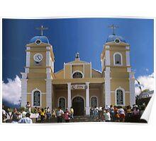 San Marcos Church, Tarrazu, Costa Rica Poster