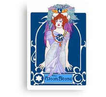The Moonstone Canvas Print