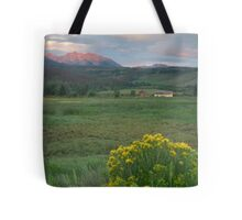 The gore Mountains Tote Bag