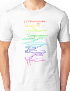 THE RAINBOW ROOMS Unisex T-Shirt