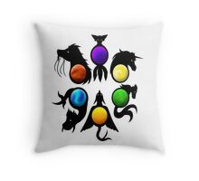 "Immortals (eyes) ""TLH"" Throw Pillow"