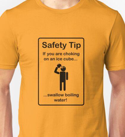 Safety Tips #1 Unisex T-Shirt