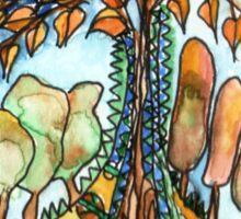 Treearium #3  Sticker