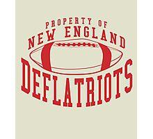 Deflate Gate - Property of New England Deflatriots Photographic Print