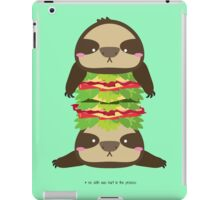 SLOTH BURGER iPad Case/Skin