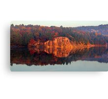 Early Morning Serenity George Lake Canvas Print