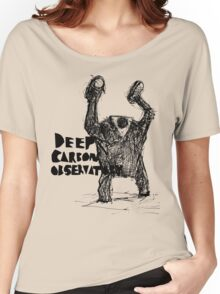 deep carbon observatory GOLEM ATTACK Women's Relaxed Fit T-Shirt