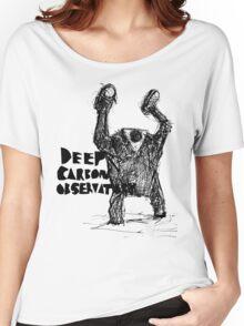 deep carbon observatory GOLEM ATTACK Women's Relaxed Fit T-Shirt