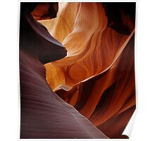 Antelope Canyon North Poster