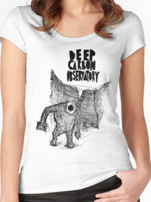 deep carbon observatory Women's Fitted Scoop T-Shirt