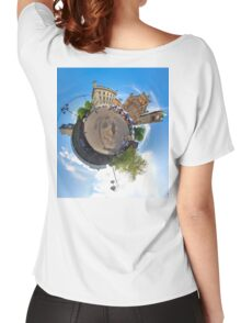 Walled City Market, Guildhall Square, Derry Women's Relaxed Fit T-Shirt