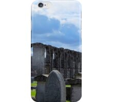 St Andrews Cathedral headstones iPhone Case/Skin