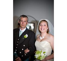 Mr and Mrs Sillence Photographic Print