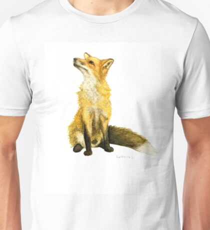 Fluffy  Fox Unisex T-Shirt