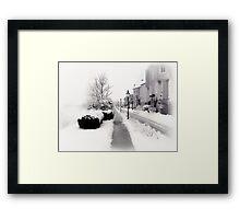 Ybbs Winter Nostalgia Framed Print