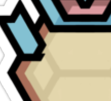Squirtle totem Sticker