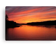 Until Tomorrow - Sunset Canvas Print