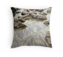 Sand patterns Throw Pillow