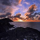 a view from the rocks at ilfracombe harbour by Jon Baxter