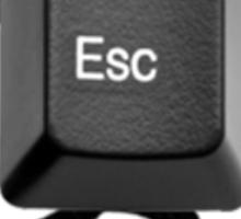 Escape Sticker
