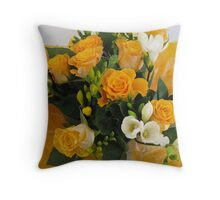 Birthday Bouquet Throw Pillow
