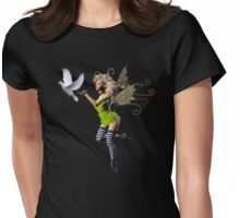 The Peace Offering Womens Fitted T-Shirt
