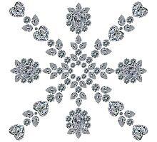 Valentine Snowflake by eldonshorey