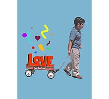 The Love Wagon Photographic Print